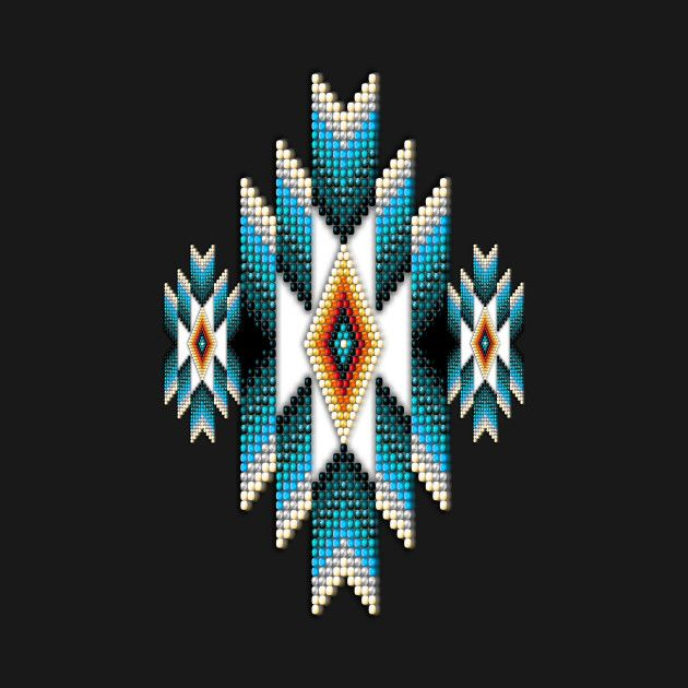 Check out this awesome 'Native+American+Style+Turquoise+Sunburst' design on @TeePublic!