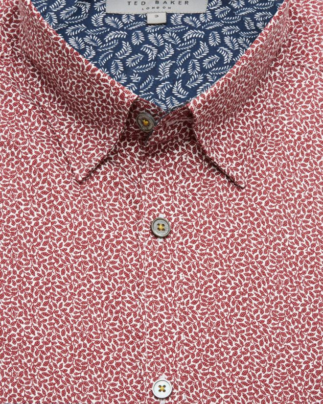 Floral print shirt - Red | Shirts | Ted Baker