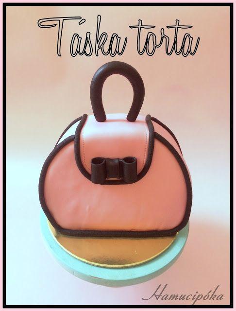 Hamucipóka: Kis táska... vagy ridikül! Vagy retikül? ....... ahh legyen torta :)