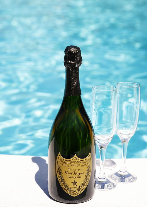 Yes.  Having a bottle of Dom & sharing it  w/ another next to the pool is one of the coolest things ever!!!