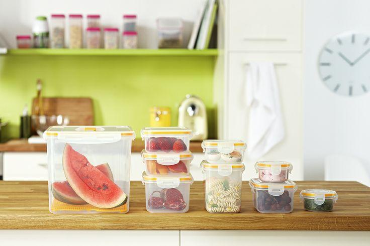 zum aufbewahren einfrieren oder als lunchbox frischhaltedosen set f r 9 95 bei tchibo. Black Bedroom Furniture Sets. Home Design Ideas
