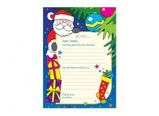 123 best christmas crafts for children images on pinterest print off this fantastic letter to santa template in colour so that your child can spiritdancerdesigns Images