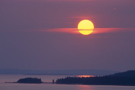 "midnight sun in sweden...on my ""to see"" list"