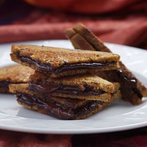 Grilled Dark Chocolate Sandwich!!! For the chocolate cravings