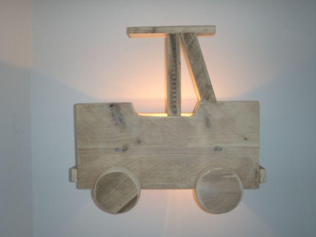 lampje...steigerhout