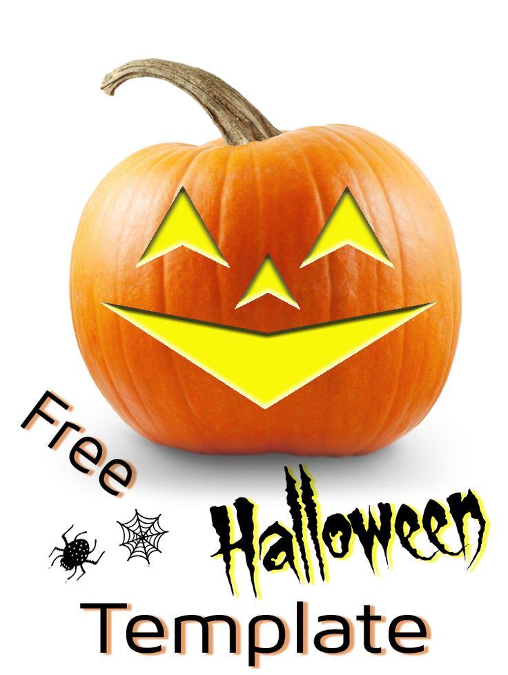 13 best halloween pumpkin patterns images on pinterest for Free halloween templates