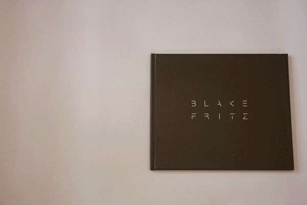Porfolio Book by Blake Fritz, via Behance