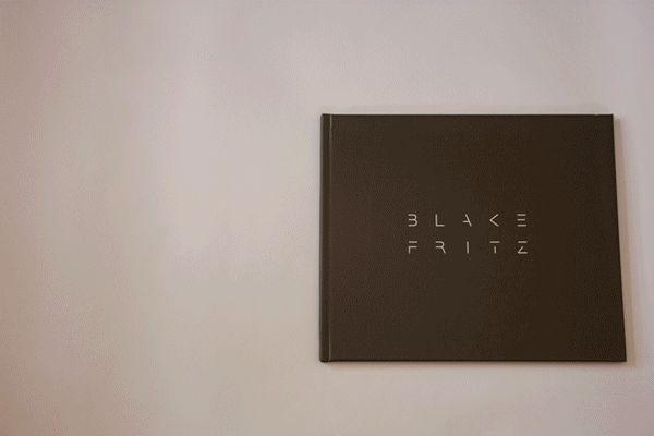 Porfolio Book by Blake Fritz, via Behance