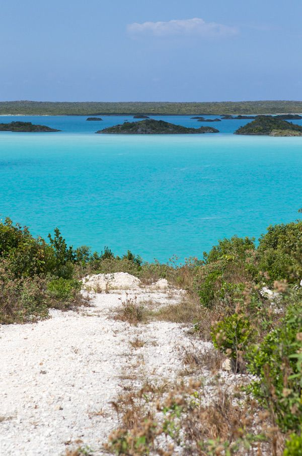 The colors of Turks and Caicos from La Tartine Gourmande