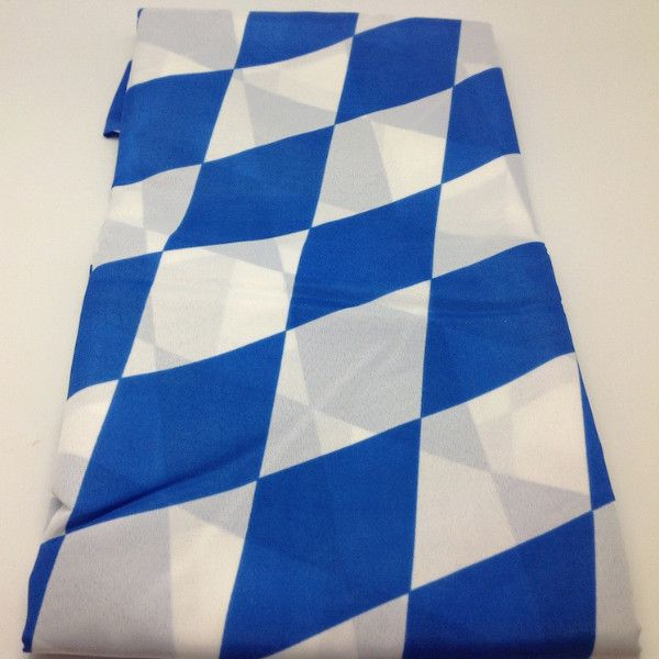 Decorate your next German or Oktoberfest party with this quality 100% polyester…