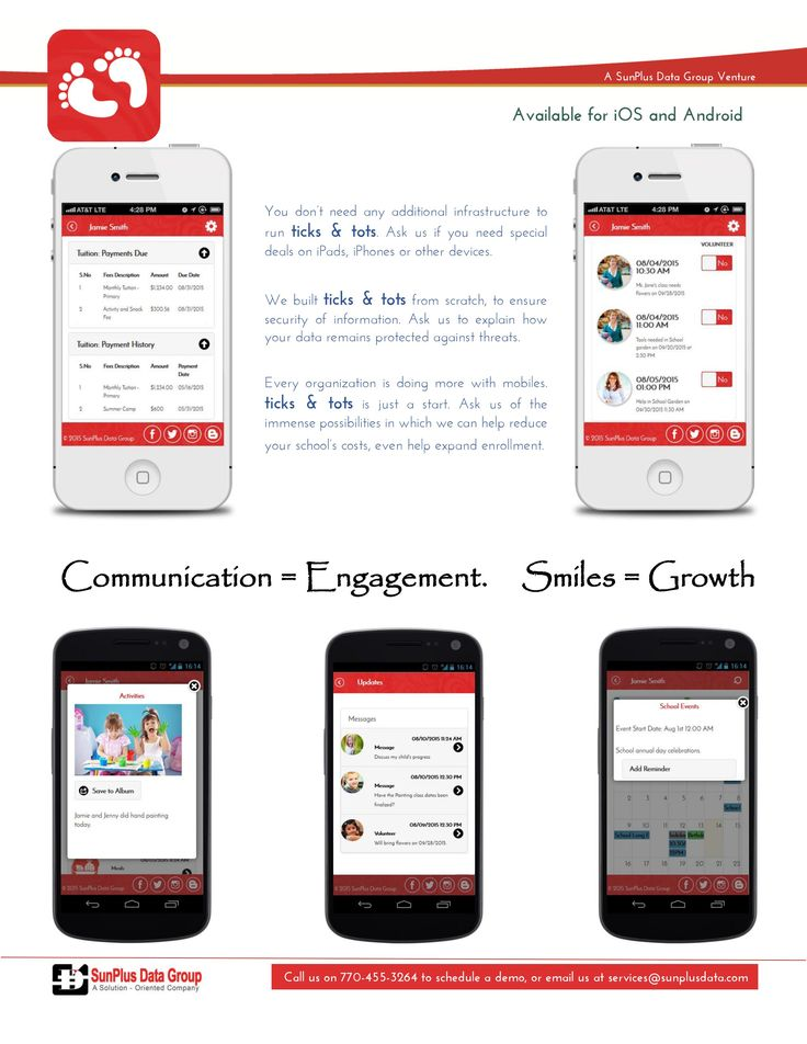9 best ticks tots mobile app images on pinterest best mobile need to engage parents need to send out an alert to the whole school fandeluxe Image collections