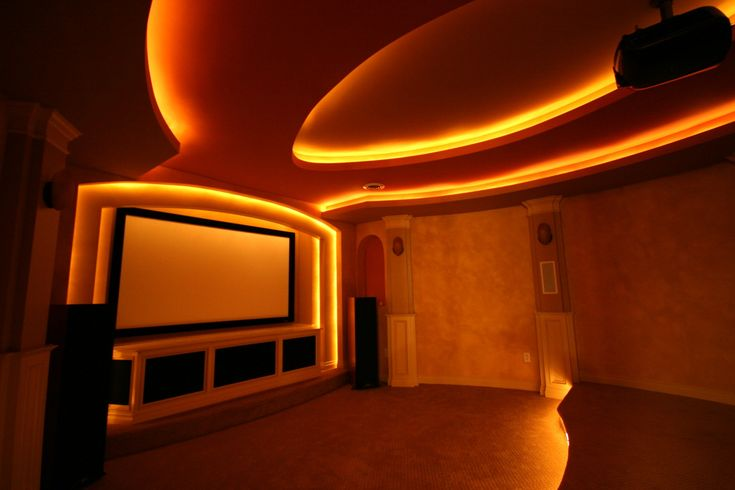 theatre room ideas | WE DESIGN + BUILD + INSTALL THEATERS