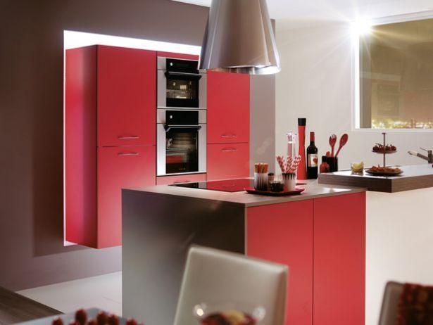 Meuble Chambre Bebe A Vendre :  kiffa rouge éclat mat modele kiffa more red kitchen modele kiffa