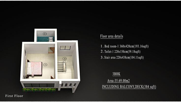 BROOK DALE VILLA 3 BHK COST (MINIMUM 10 CENT LAND & VILLA) Rs. 61,34,000/-