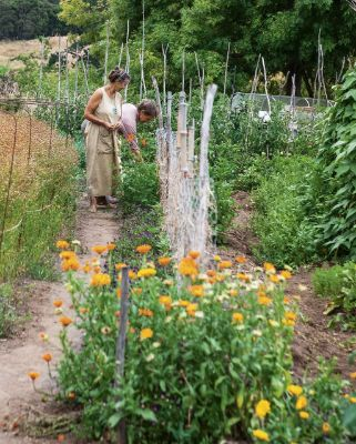 Their ultimate self-sufficient garden has a higher purpose - our very survival.