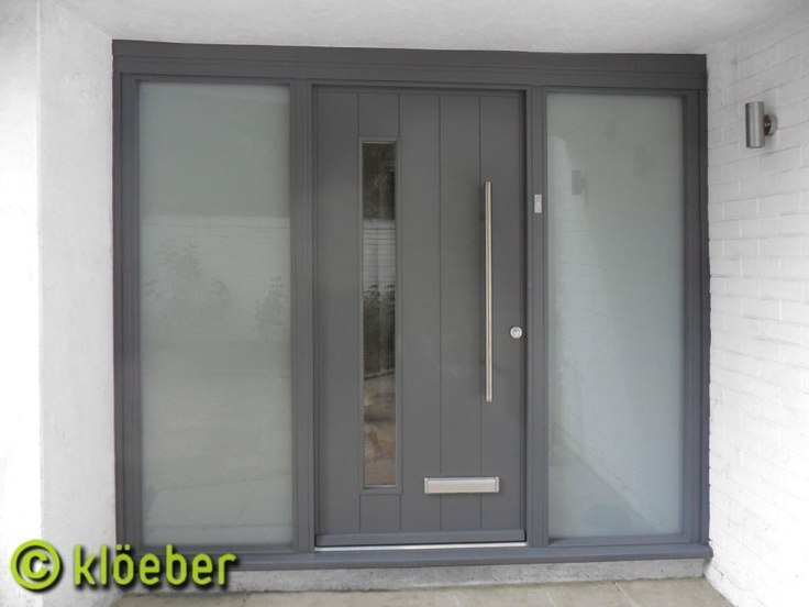 Contemporary timber front door Kloeber FunkyFront.jpg