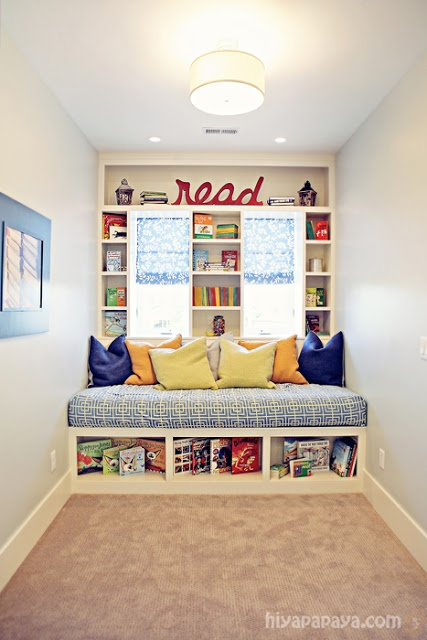 Built In Reading Daybed
