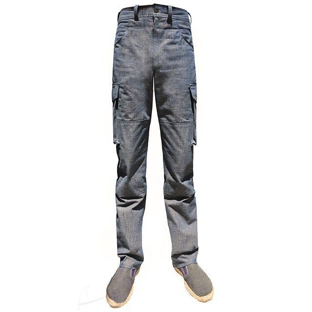 Dżinsy męskie z bocznymi kieszeniami. Możliwość zamówienia w dowolnym rozmiarze, fasonie i kolorze w butiku Łatka fashion