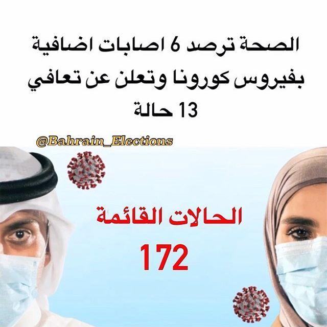 البحرين الصحة ترصد 6 اصابات اضافية بفيروس كورونا وتعلن عن تعافي 13 حالة أظهر بيانات حديثة لوزارة الصحة اليوم الجمعة عن تسجيل Movie Posters Movies Poster