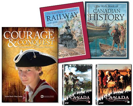 Courage and Conquest DVD Bundle - Northwoods Press