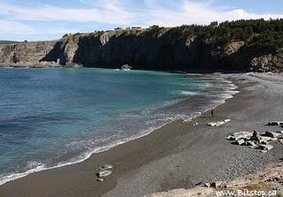 MIddle Cove Beach, Newfoundland - the unofficial site of many bonfires, caplin rolls, family picnics, and wedding photos!