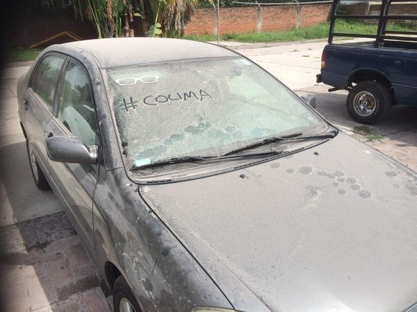 Messico: cade cenere vulcanica su Colima FOTO VIDEO Vulcano