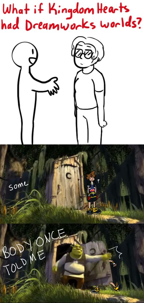 What if Kingdom Hearts Had Dreamworks Worlds?
