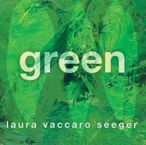 """""""Green"""" by Laura Accaro Seeger. Kids will love this creative and interactive exploration of the color green. (It's a lot more fun than it sounds!)"""