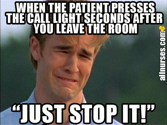 Why couldn't you have said anything seconds earlier? #nursinghumor #nursingjokes #nursing #funny