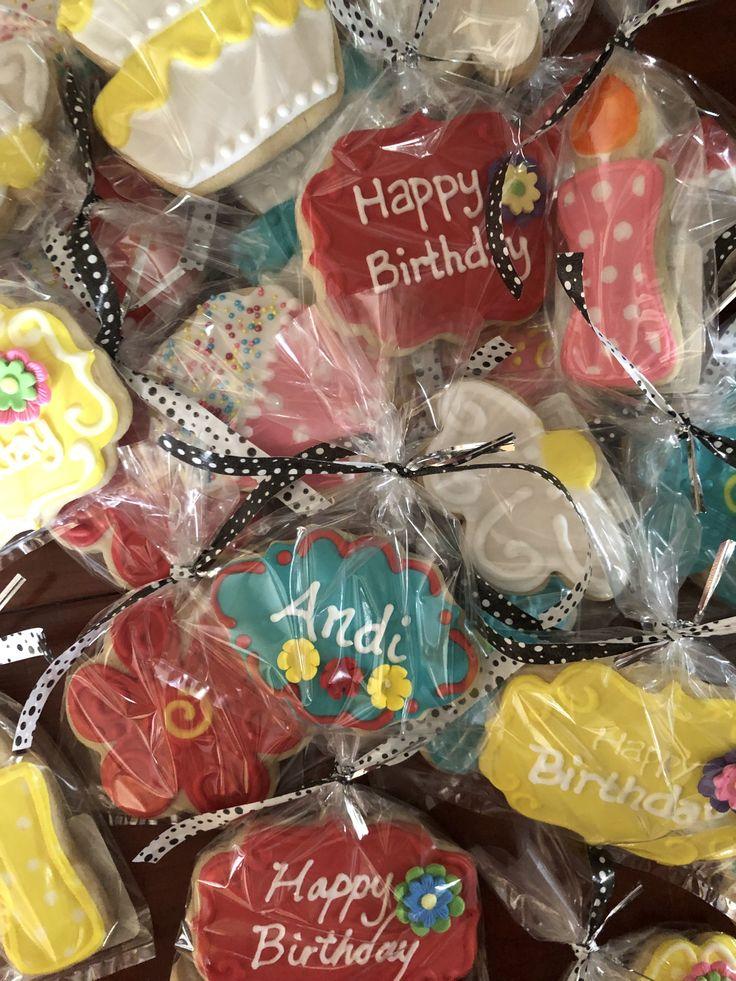 Birthday sugar cookies birthday happy birthday sugar