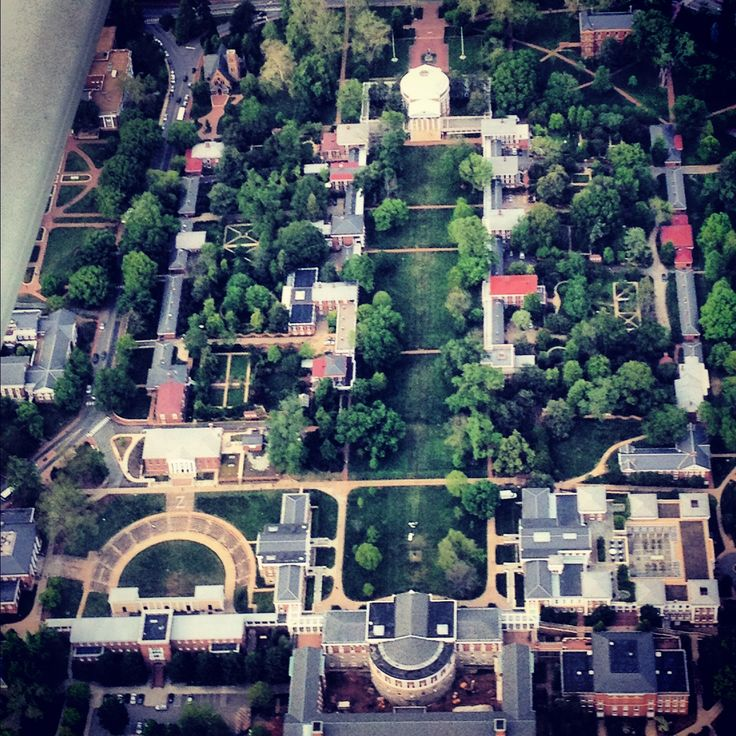 University of Virginia- the most beautiful place on earth.