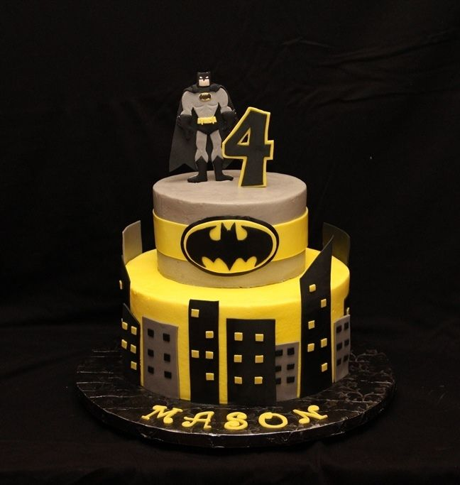 169 Best Birthdays Images On Pinterest Batman Cakes Batman Party