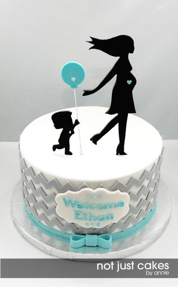 Not Just Cakes by Annie: Shower Ideas, Cakes Ideas, Baby Shower Cakes, Chevron Baby Shower, Cakes Decor, Baby Shower Boys Cakes, Baby Boys Shower Cakes, Cakes Baby Shower, Baby Cakes