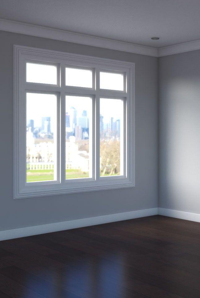 Room Design Com: Dark Wooden Floor With Gray Wall In 2020