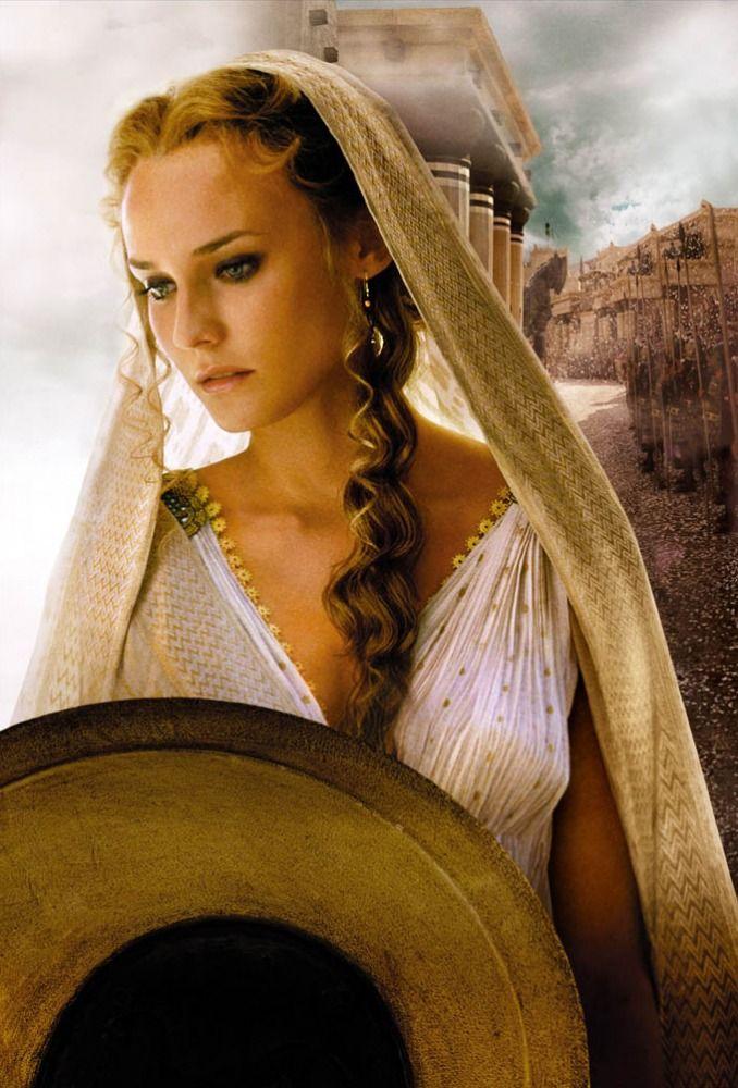 Diane Kruger as Helen of Troy in Troy.