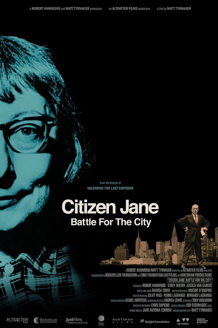 Citizen Jane: Battle for the City 2017 Movie #BattleForTheCity, #CitizenJane, #Movies, #RobertMoses, #Trailers https://www.hatici.com/citizen-jane-battle-for-the-city-2017-film  Citizen Jane: Battle for the City 2017 Movie; In 1960, Jane Jacobs' book The Death and Life of Great American Cities sent shockwaves through architectural and planning worlds, discovering the consequences of modern planners and architects restructuring cities. Jacobs was an activist... - hatici