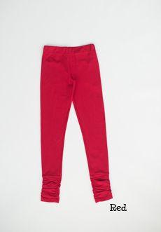 CiCi Bean - clothing for tween girls. | Sweet Smile Skinnies in Red | Shop at www.peekaboobeans.com
