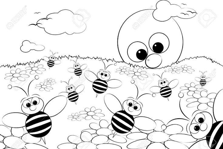 13 best Dibujos de primavera para colorear y pintar con los mas ...