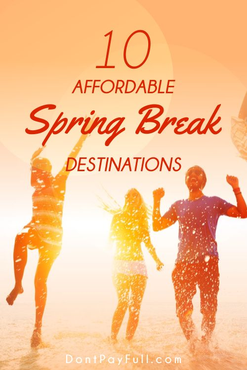 You haven't planned your Spring Break getaway yet, and the time is almost upon you. Plus, you don't have much money to spend. Does that mean you have to give up on Spring Break altogether? Not necessarily. From the home-grown to the exotic, there are budget getaways to suit almost any pocket. We start with the most exotic options and take it through to shoestring budget local escapes. #DontPayFull