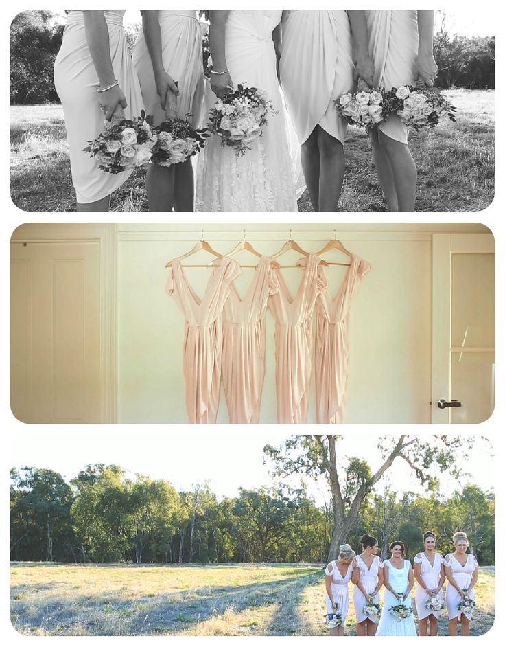 Some beautiful bridesmaids dresses from Kate&Lee's wedding