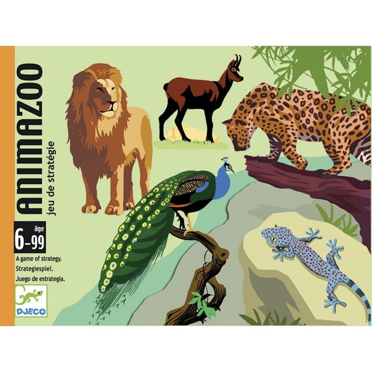Animazoo-taktikai kártyajáték (Djeco)