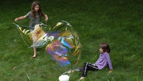 Návod na maxi bublifuk #deti #zabava #navod #tvorenie #bublifuk #leto