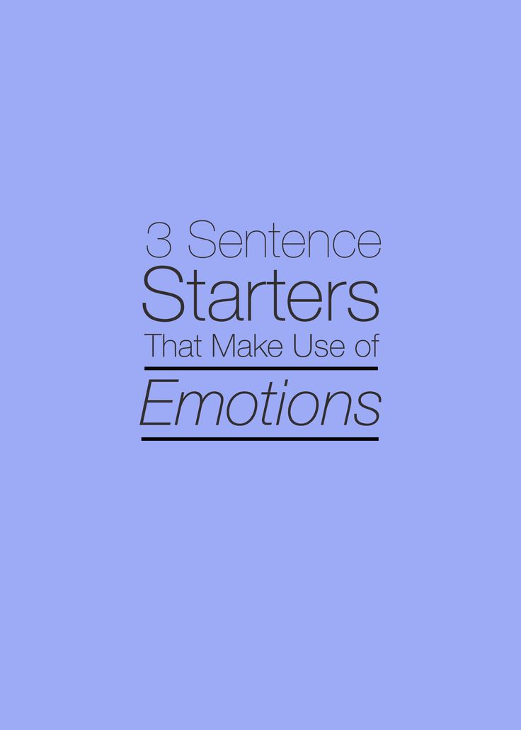 sentence starters for creative writing Random first line prompts the aim of these writing prompts is to spark off a short story when you click the button, a random first line for a story will be generated.
