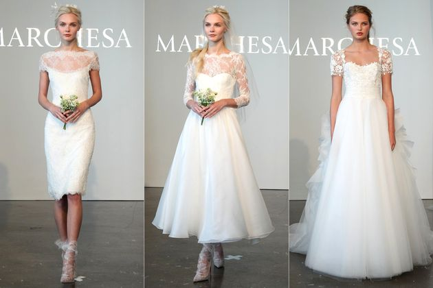 Bridal Fashion Week Spring 2015 - If you're making wedding plans, discover the latest trends in the bridal industry. From Vera Wang to Marchesa, check out the best collections from bridal fashion week spring 2015