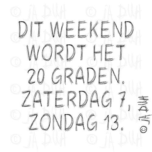 Temperatuur. Ja Duh! #humor #spreuk #Nederlands #lachen #lol #quote #tekst #herkenbaar