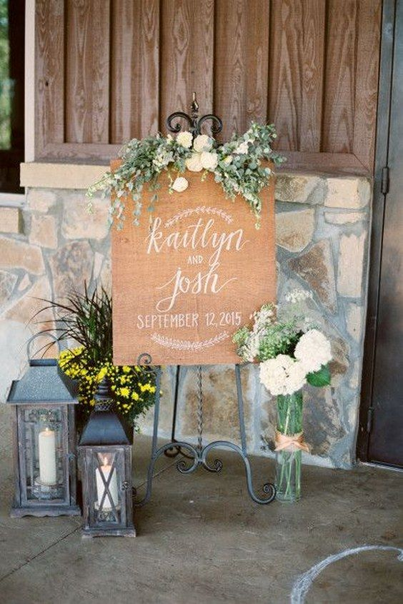18 Unique Wedding Reception Entrance Ideas For Newlyweds Rustic