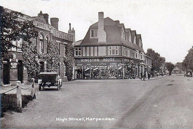 George Hotel, High Street, Harpenden, Hertfordshire