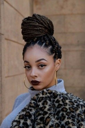 Best African Braids Styles For Black Women | Box braids