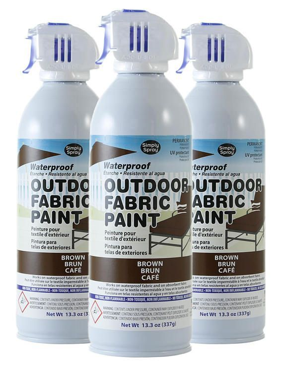 UV Protectant for Outdoor Decor and Furniture /& Prevents Fading /& Peeling 3 Pack
