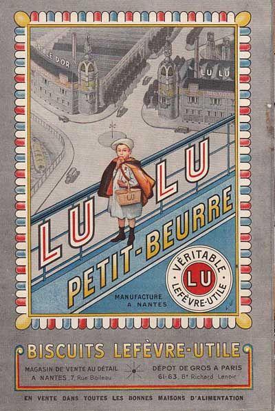 *LU biscuit - Lefèvre-Utile*